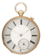 GOLD QUARTER REPEATING LEVER POCKET WATCH - image 1