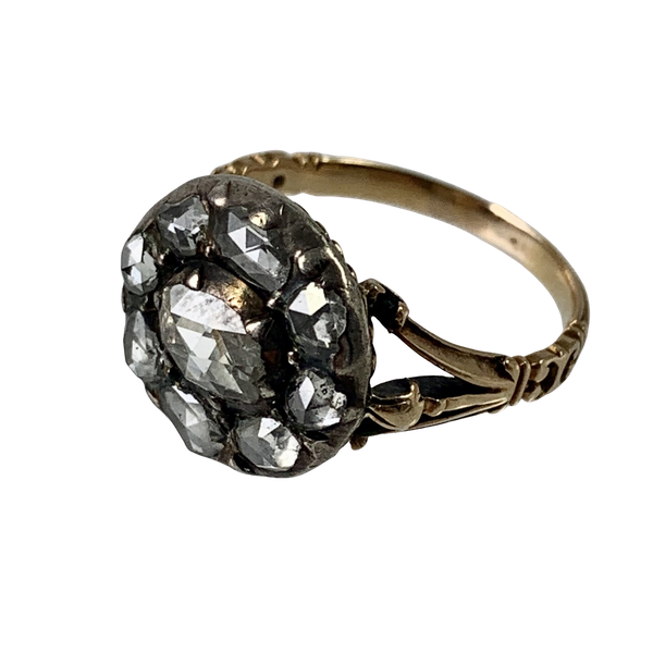 Eighteenth century diamond ring - image 1