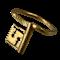 Ancient Roman key ring - image 1