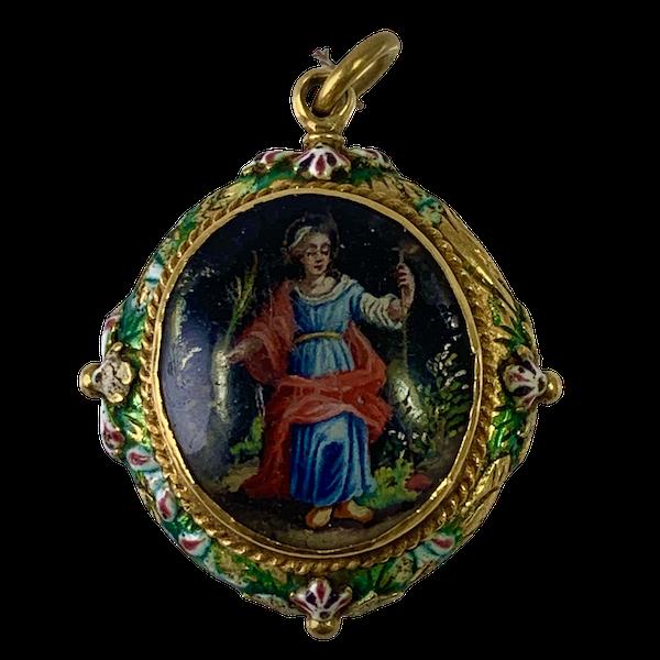 Seventeenth century pendant - image 1