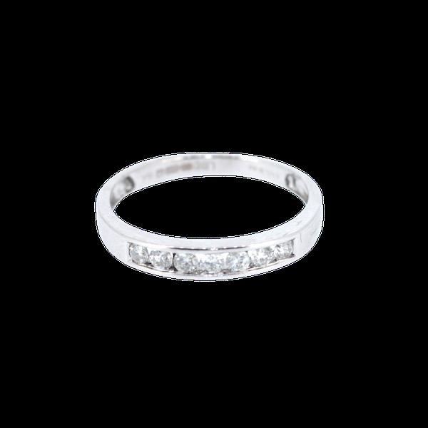 Diamond Half Eternity Ring. S.Greenstein - image 1