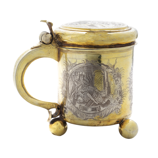 A Russian Silver Gilt Tankard, Moscow c.1745 - image 1