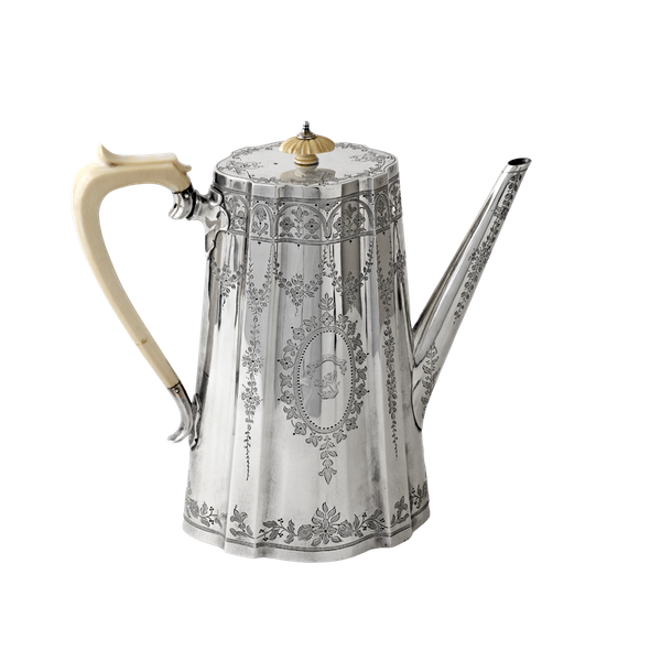 Victorian coffe pot - image 1