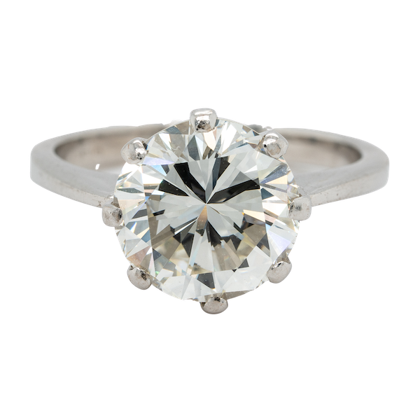 A Fine Brilliant Cut Diamond Offered by The Gilded Lily - image 1