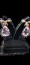 18K yellow gold 35.00ct Kunzite and 1.25ct Diamond Earrings - image 3
