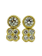 18K Yellow Gold 1.00ct Diamond Earrings - image 3