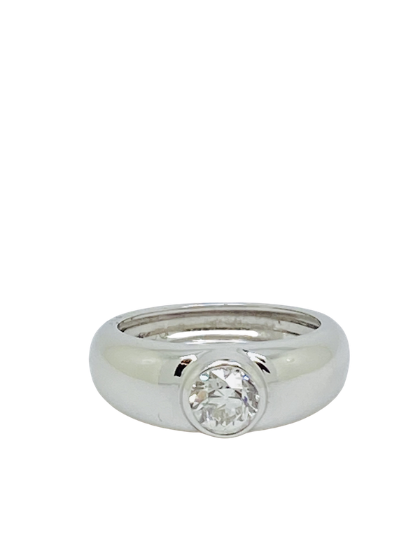 18K white gold 0.55ct Diamond Ring - image 1