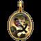 Antique Essex crystal finch pendant locket  DBGEMS - image 4