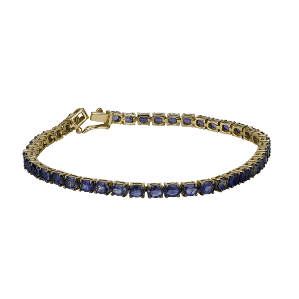 Tennis sapphire bracelet - image 1