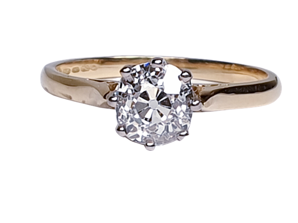 1.20ct Cushion Cut Diamond Engagement Ring  DBGEMS - image 1