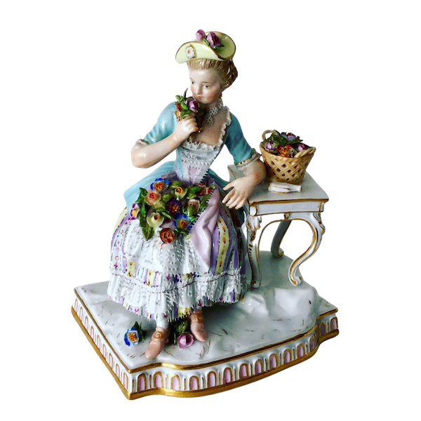 """Meissen figure of """"smell"""" - image 1"""