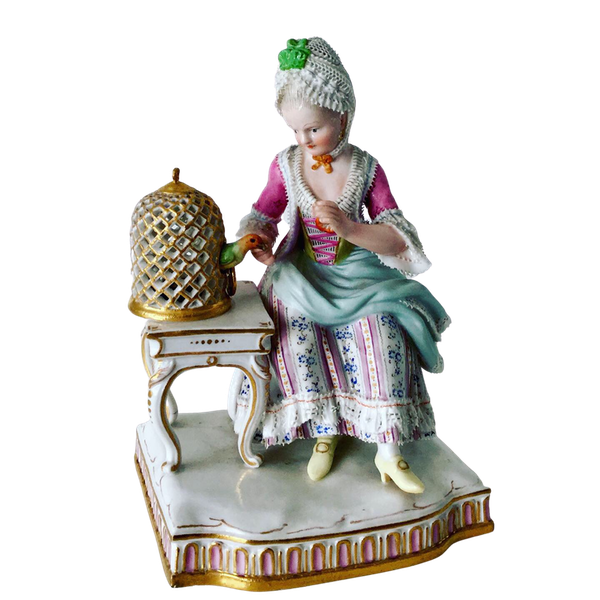 Meissen figure of touch - image 1
