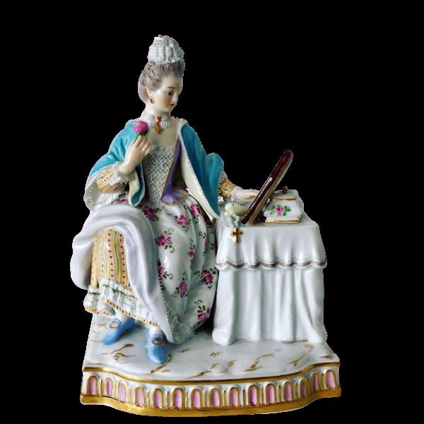 "Meissen figure of ""sight"" - image 1"