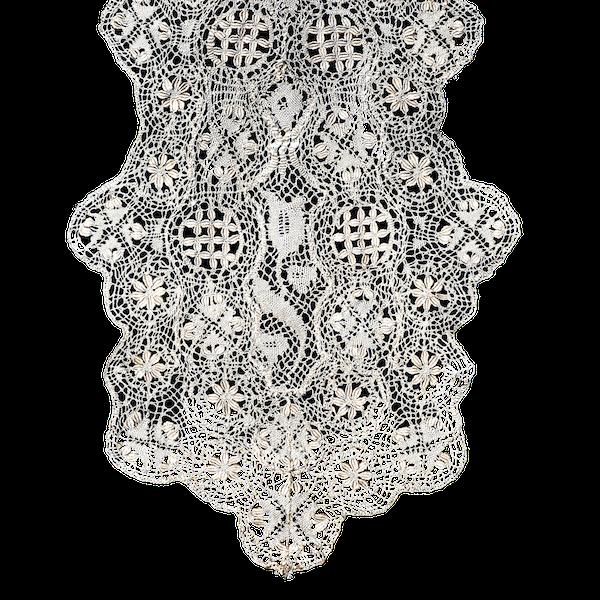 Silk collar - image 1