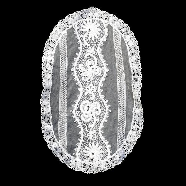 Oval tray cloth - image 1
