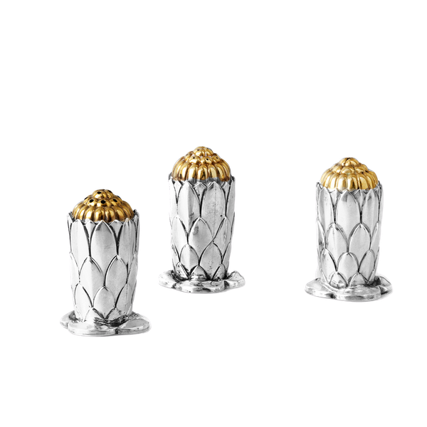 silver condiment set of 3 - image 1
