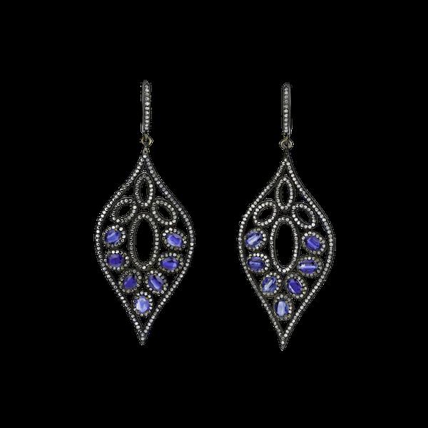 Kyanite earrings - image 1