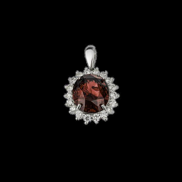 Garnet pendant - image 1