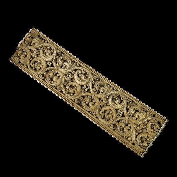 Late sixteenth century Ceylon ivory panel - image 1