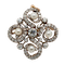 Diamond with Natural Pearl Brooch & Pendant - image 1