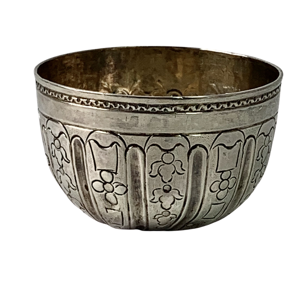 Eighteenth century silver vodka cup - image 1