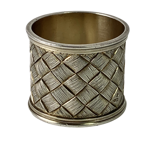 New Russian silver napkin ring - image 1