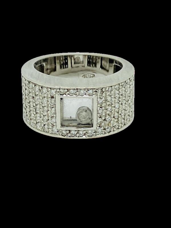 18K white gold 0.75ct Diamond Ring - image 1