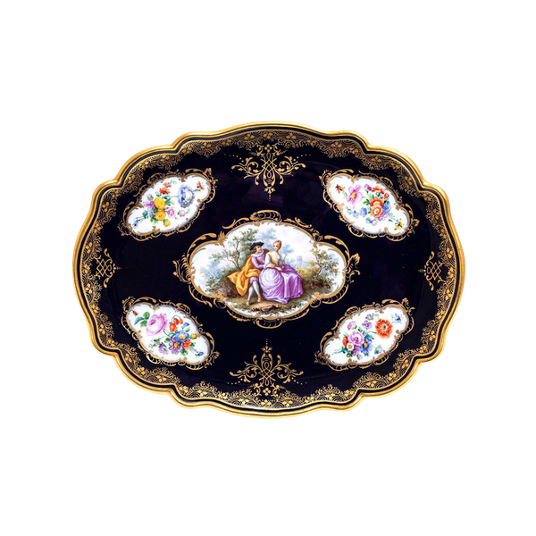 Meissen footed tray - image 1