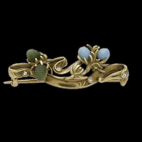 Art Nouveau Brooch - image 1