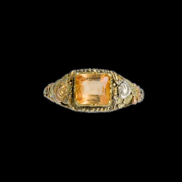 Antique Topaz Ring - image 1