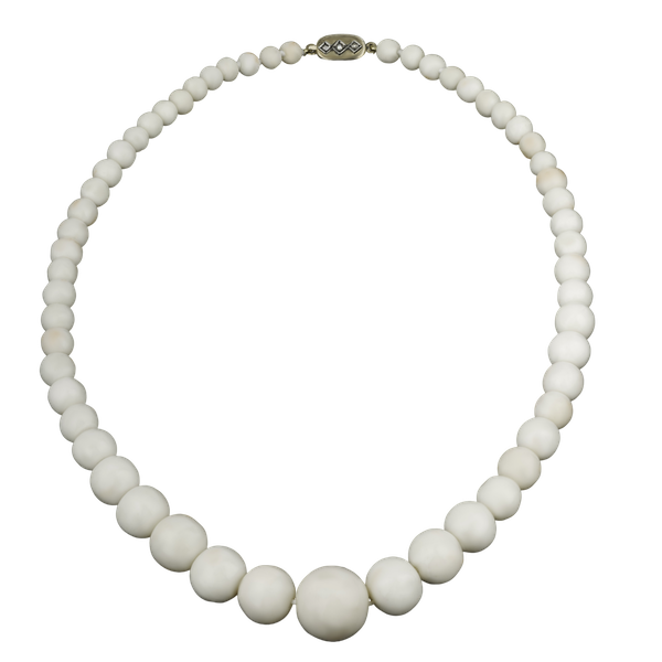 Angel Skin Coral Necklace - image 1