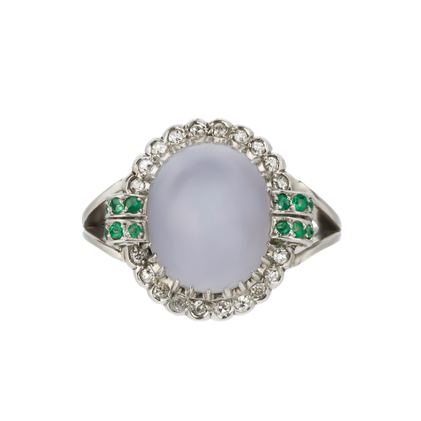 Cabochon Star Sapphire Ring - image 1