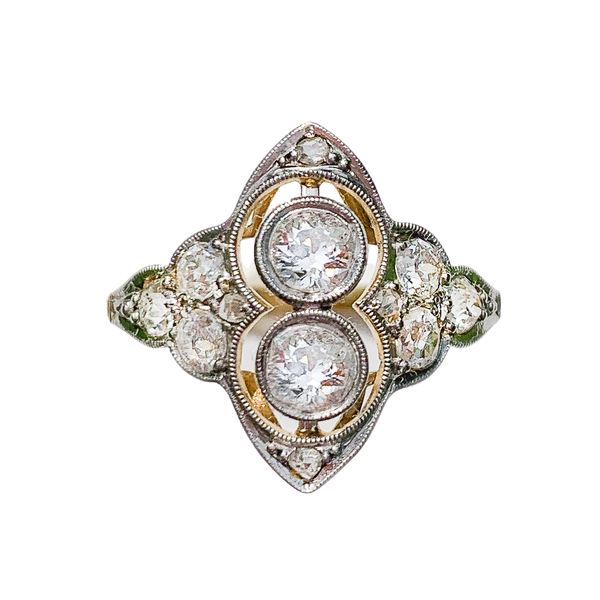 An Art Deco Diamond Ring - image 2