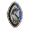 A Georgian Navette Mourning Ring - image 1