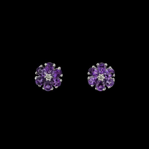 """""""Fioretti"""" amethyst earrings - image 1"""