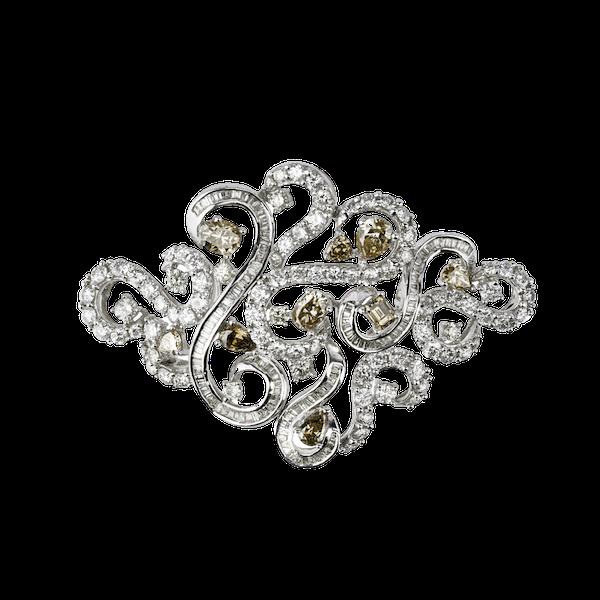 Brooch/pendant diamonds - image 1