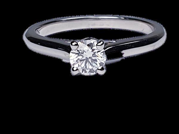 Cartier diamond engagement ring  DBGEMS - image 1
