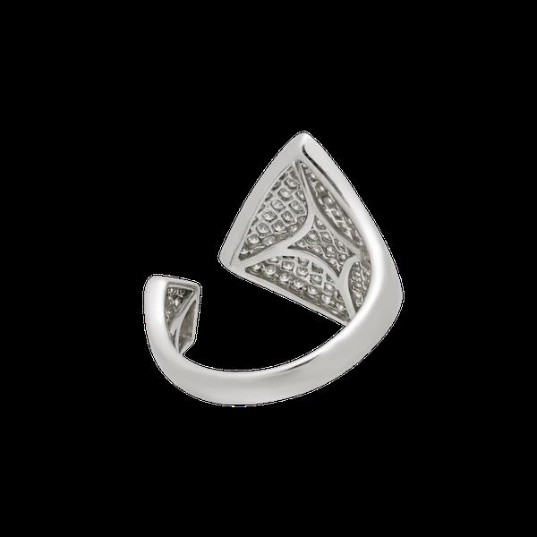 New Art Deco style diamonds ring - image 1