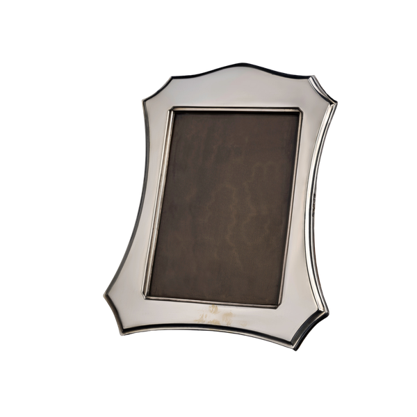 A shaped silver antique frame - image 1
