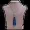 Sapphire tussle pendant - image 1