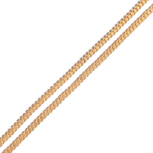 A Georgian Pinchbeck chain - image 1