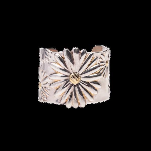 Tiffany silver Daisy bangle 2003 - image 1