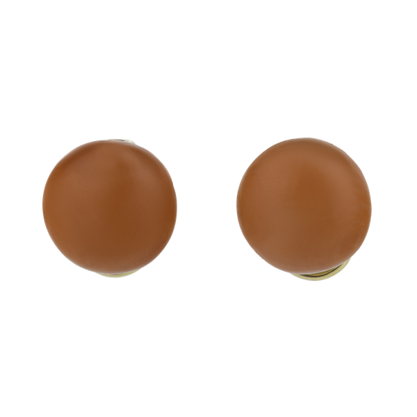Coral Earrings - image 1