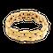 Vintage Bracelet in 18 Karat Gold of Interlocking Brick Design, French circa 1950. - image 1
