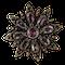 Pink topaz brooch - image 1