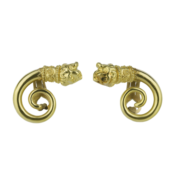 18ct Gold Earrings - image 1