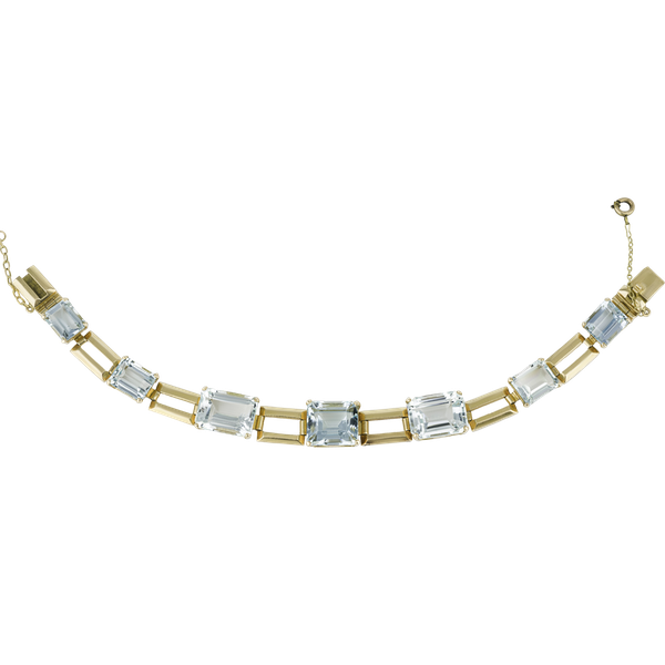 Aquamarine Bracelet - image 1