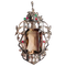 A Marcasite, Smoky Quartz, Paste and Silver Pendant - image 1