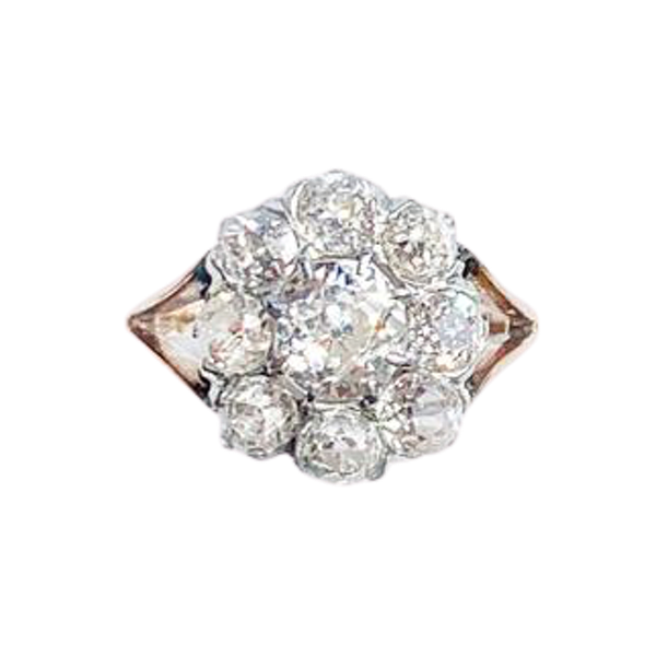 An Antique Diamond Ring - image 2