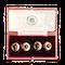 A pair of Garnet Diamond and Gold Cufflinks - image 1